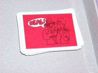2004 PARKER BROTHERS PAYDAY BOARD GAME PARTS DEAL CARDS