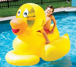 NEW INFLATABLE POOL LAKE TUBE KIDS DUCK FLOAT TOY RAFT