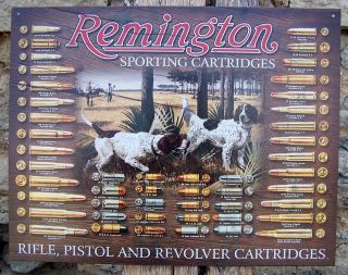 Style Remington Guns Ad Firearms Sport Retro Metal Sign Wall Decor USA