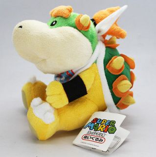 Brothers Bowser Jr. Koopa 7 inch Stuffed Plush Doll Toy New with Tag