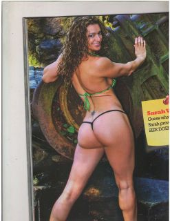 PLANET MUSCLE bodybuilding fitness magazine Sarah Varno /Ronnie