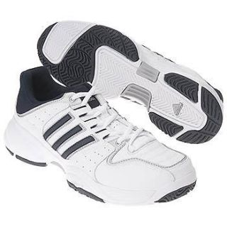 NEW Adidas Ambition Stripes IV mens 12 m US wht/blu