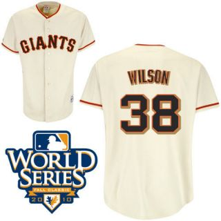San Francisco Giants Replica Adult Majestic Jersey w/2010 WS Patch