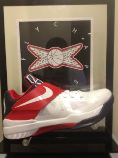 NIKE ZOOM KD IV 4 OLYMPIC 773679 103 KEVIN DURANT USA DS BRAND NEW