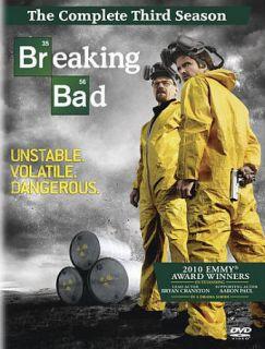NEW BREAKING BAD COMPLETE SEASON 3 DVD BOX SET SEALED three 3rd