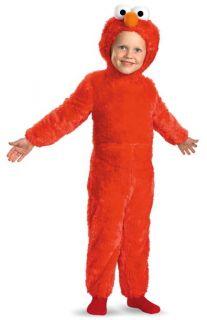 Boys Elmo Costume Infant Toddler Halloween OFFICIAL Sesame Street Kids