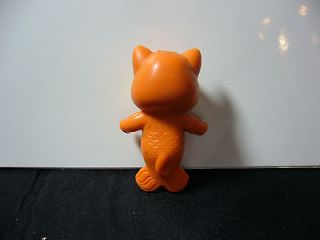 VINTAGE KENNER SEEWEES CABBAGE PATCH PVC ORANGE CAT FIGURINE