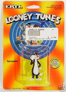Ertl Die Cast Warner Brothers Looney Tunes Sylvester Cat Figurine 1989