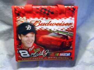DALE EARNHARDT JR.Kolder Case can cooler budweiser beer