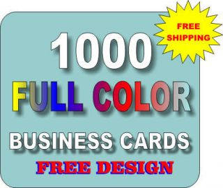 1000 business cards in Business Cards