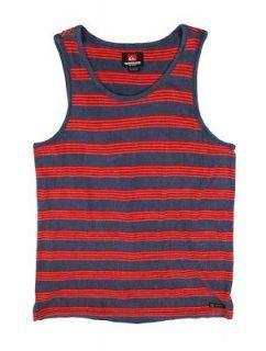 Quiksilver Mens Heller Tank Top Sleeveless T shirt Blue 108238 VIB L