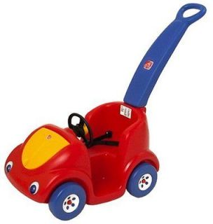 New Step2 Push Around Buggy Car Red Cute Kids Toddler Baby Safe