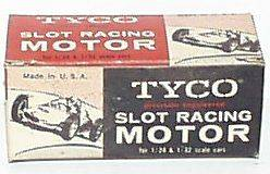 113) TYCO SLOT CAR MOTOR  12 Volt