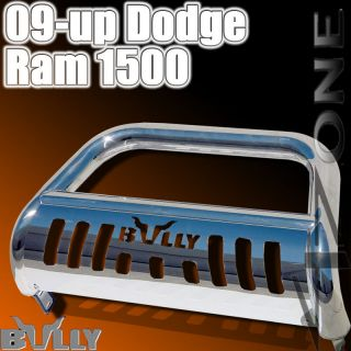 DODGE RAM 1500 BULLY GRILLE GUARD FRONT BUMPER BULL BAR W/ SKID PLATE
