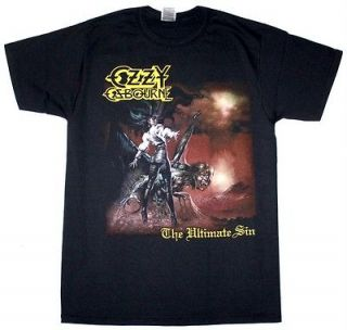 THE ULTIMATE SIN86 BLACK SABBATH HARD ROCK DIO NEW BLACK T SHIRT