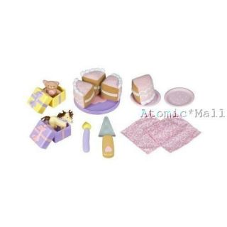 Rose Petal Cottage Sweet Birthday Celebration Cake & Accessories