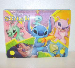 Lilo & Stitch Experiments Plastic File Box Index Card Holder Scrump