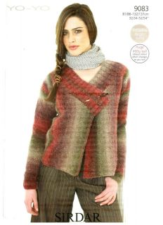 Women s Cardigan Knitting Pattern : Modern Knitting Patterns for Women on PopScreen