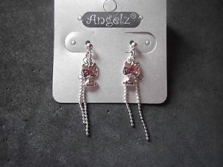 hello kitty chain earrings