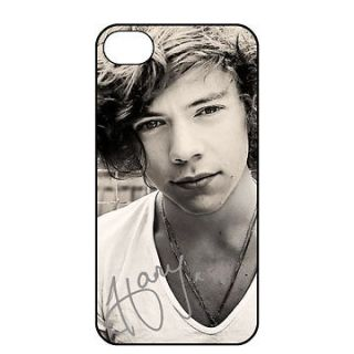 HARRY STYLES Hard Back Case Cover for iPhone 4 4S 5 ONE DIRECTION