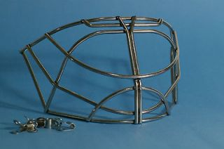 Bauer NME 3 7 9 Pro Cat Eye Replacement Goalie Cage   Stainless Steel
