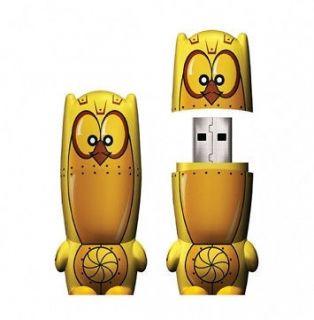 Owsley Owlbert Owl 4GB Designer USB Flash Drive Memory Stick Fun Gift