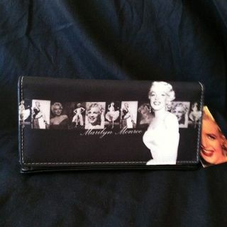 Marilyn Monroe Checkbook Wallet with Card Holders