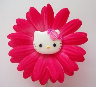 SUGAR SWEET HELLO KITTY FLOWER DAISY TEACHER STUDENT RN NURSE ID BADGE