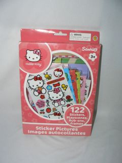 HELLO KITTY STICKER PICTURES 122 STICKERS