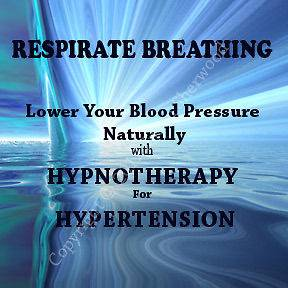 Breathing Hypertension Hypnosis CD for High Blood Pressure   Resperate