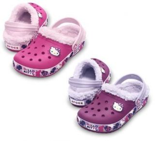 CROCS MAMMOTH HELLO KITTY BIRDS & BUNNIES GILRS CLOG SHOES ALL SIZES