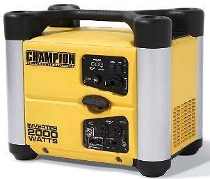 New CARB Champion 2000 watt Gas Portable Gasoline Generator Inverter