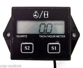 tachometer tach digital LCD Honda atv motorcycle generator dirt bike