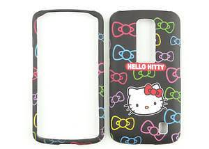 Hello Kitty Black Face Phone Case Cover Skin For AT&T LG Nitro HD P930