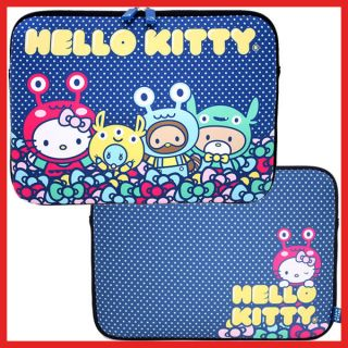 Hello Kitty Macbook Case /LapTop Formed Bag Monsters