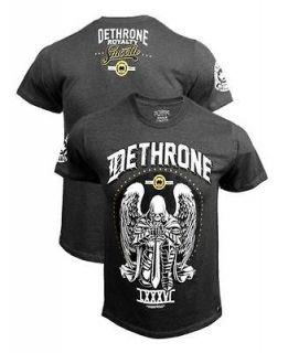 DETHRONE ROYALTY BEN HENDERSON UFC WALKOUT CHARCOAL HEATHER BRAND NEW