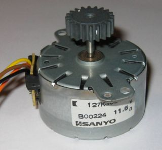 Sanyo Alternator   Wind Water Hydro Permanent Magnet Small Alternator