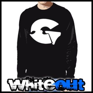GZA WU TANG CLAN ODB HIP HOP RAP MUSIC CREW BLACK CREW NECK SWEATSHIRT