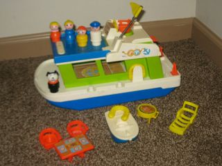 fisher price houseboat in Little People (1963 1996)