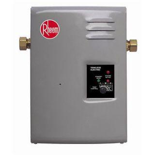 Rheem Electric Tankless Water Heater   9 kW RTE 9 NEW