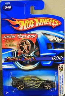 2005 HOT WHEELS Faster Than Ever #46 Subaru WRX Very Rare Car (FREE S