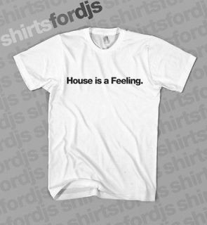 house music shirt in T Shirts