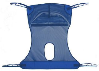 Mesh Full Body Commode Patient Lift Sling by Lumex NEW