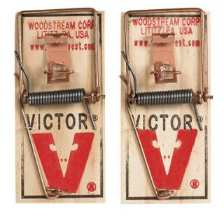 Victor Mouse Trap Old Fashion Mouse Trap 2 pack