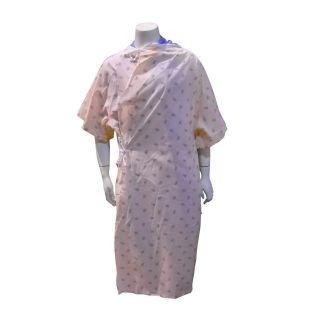 12 New Peach Hospital Patient Gowns 45280 PLY Gown Medical Clinic FREE