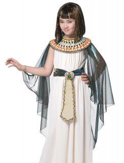 Kids Girls Egyptian Cleopatra Halloween Costume