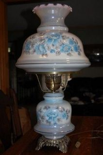 victorian hurricane table lamp