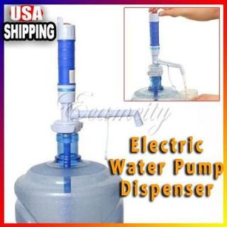 Powerful Electric Pump Dispenser Bottled Drinking Water 5 Gal w Press
