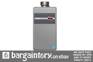 New Rheem/Ruud tankless water heater RUTG 66DVP LP