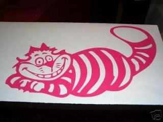 Disney Alice in Wonderland Cheshire Cat Car vinyl Sticker Decal